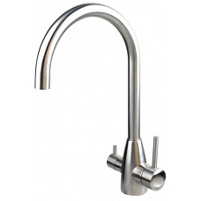 Image of a standard dual outlet mixer tap